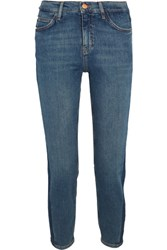 Mih Jeans M.I.H Tomboy Cropped Mid Rise Skinny Mid Denim