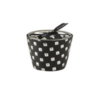 Baobab Collection Warriors Scented Candle Black And Silver 10Cm