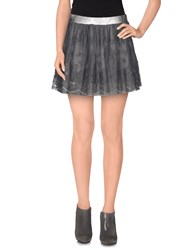Imperial Star Imperial Skirts Mini Skirts Women Grey