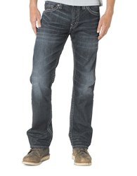Silver Jeans Nash Straight Leg Blue