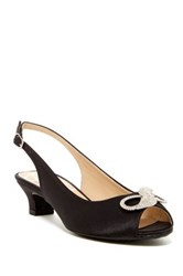 J. Renee Jadan Too Slingback Pump Wide Width Available Black