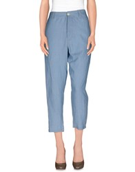 Momoni Momoni Trousers Casual Trousers Women Sky Blue