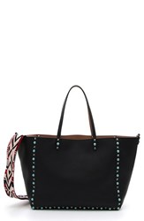 Valentino 'Rockstud Rolling' Guitar Strap Leather Tote