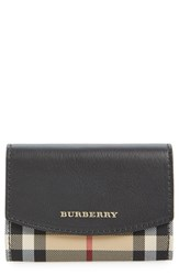 Women's Burberry 'Chesham Horseferry Check' Wallet