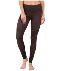 Alo Yoga Airbrushed Legging Mink Casbah Women's Workout Burgundy