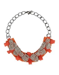 Paola Frani Necklaces Orange