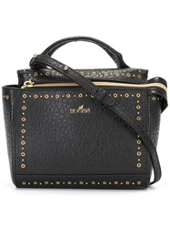Hogan Studded Tote Bag Black
