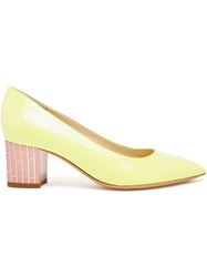 Pollini Pointed Toe Pumps Green