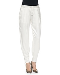 Haute Hippie New Zipper Cuff Track Pants Small