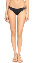 L Space Low Down Bikini Bottoms Black