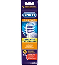 Oral B Trizone Replacement Toothbrush Heads Pack Of 4
