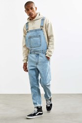 Bdg Light Stonewash Denim Overall Blue