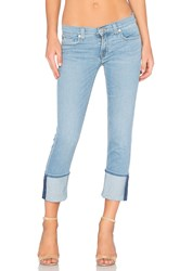 Hudson Jeans Muse Skinny Crop Glass Shore