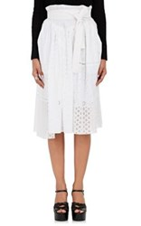 Marc Jacobs Women's Cotton Patchwork Midi Skirt Ivory