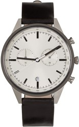 Uniform Wares Silver And Gunmetal C41 Watch