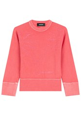 Dsquared2 Cotton Sweatshirt Red