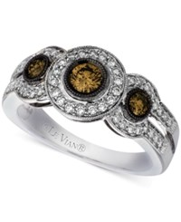 Le Vian Chocolatier Diamond Ring 3 4 Ct. T.W. In 14K White Gold