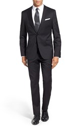Boss Men's 'Ryan Win' Extra Trim Fit Solid Wool Suit