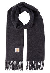 Carhartt Wip Clan Scarf Black Heather Mottled Black