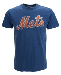 '47 Brand Men's New York Mets Scrum T Shirt Royalblue