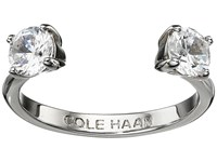 Cole Haan Cz Open Stone Ring Silver Crystal Ring