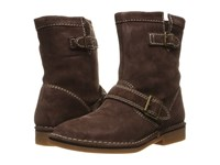 Hush Puppies Aydin Catelyn Chocolate Suede Women's Boots Brown