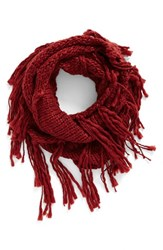 Women's Bp. Chunky Knit Fringe Scarf