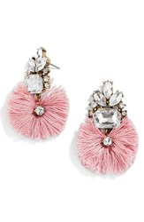 Baublebar Women's 'Flamenco' Drop Earrings Dark Pink