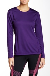 Asics Long Sleeve Core Tee Purple