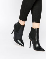 New Look Premium Heeled Boot With Pointed Toe Black