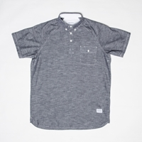 Norse Projects Benno Short Sleeve Shirt Navy Chambray Www.Atoo.Co.Uk