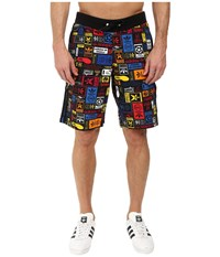 Adidas Multicolor Shorts Black Men's Shorts