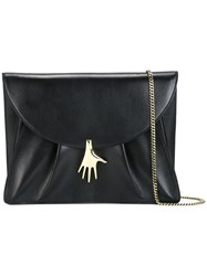 Petar Petrov Hand Clasp Shoulder Bag Black