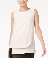 Alfani Prima Layered Shell Only At Macy's Blush Beige