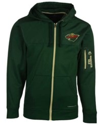 Majestic Men's Minnesota Wild Ready For Action Full Zip Hoodie