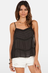 Volcom 'Straight Laced' Camisole Black