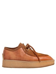 Stella Mccartney 50Mm Faux Leather Wedge Shoes