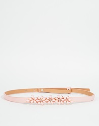 Johnny Loves Rosie Flora Belt Pastelpink