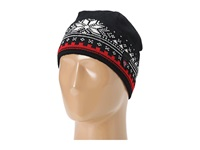 Dale Of Norway Dale 125Th Anniversary Hat F Black Red Rose Off White Knit Hats