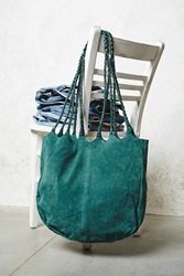 Free People Decades Suede Tote