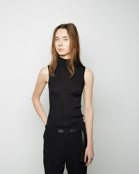 Proenza Schouler Sleeveless Turtleneck Black