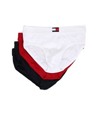 Tommy Hilfiger Cotton Hip Brief 4 Pack Mahogany Men's Underwear