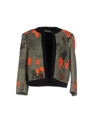 Preen Suits And Jackets Blazers Women Military Green
