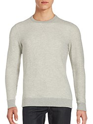 Jason Scott Two Tone Heathered Sweatshirt Grey