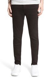 Men's Cheap Monday 'Tight' Skinny Fit Jeans New Black
