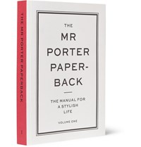 The Mr Porter Paperback Manual For A Stylish Life Volume One Book White