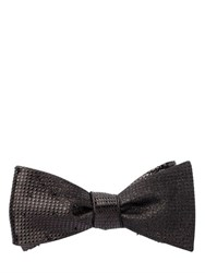 Title Of Work Beaded Silk Bow Tie