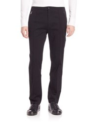 Ralph Lauren Purple Label Pintuck Pants Black