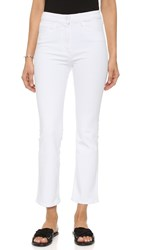 3X1 The Principle High Rise Crop Micro Flare Jeans Aspro