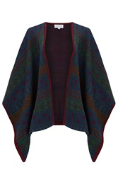 Almost Famous Knitted Poncho Green